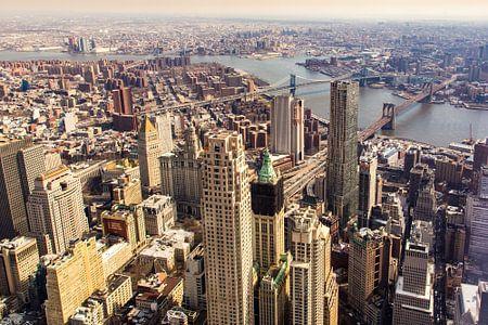 New York city uitzicht von Sjoerd Tullenaar