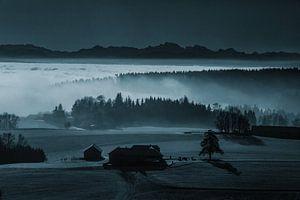 Der Nebel als Landschaftsmaler von Rudolf Brandstätter