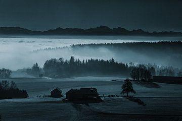 De mist als landschapsschilder van Rudolf Brandstätter