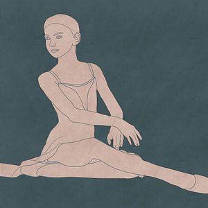 Danseuse prima ballerina sur Roberto Moro