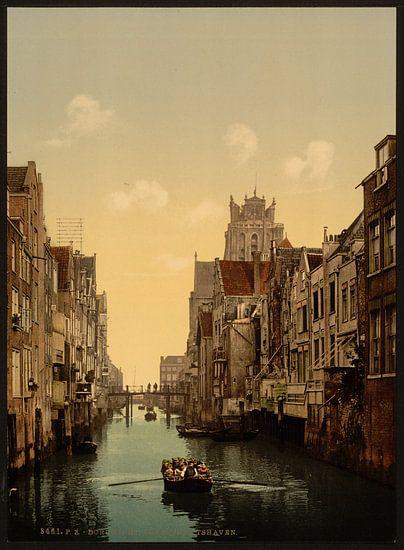 Voorstraatshaven, Dordrecht van Vintage Afbeeldingen