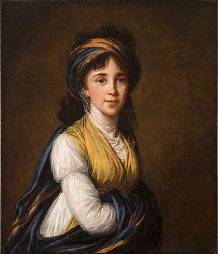 Porträt der Prinzessin Belozersky, Élisabeth Vigée-Le Brun