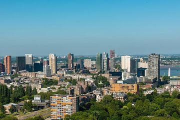 De Stad Rotterdam vanaf de Euromast. van Brian Morgan