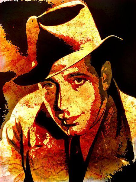 Humphrey Bogart von Maarten Knops