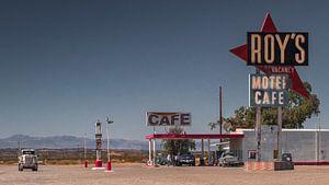 Roy`s Tankstelle  an der Route 66