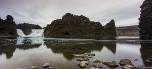 Hjalparfoss panorama