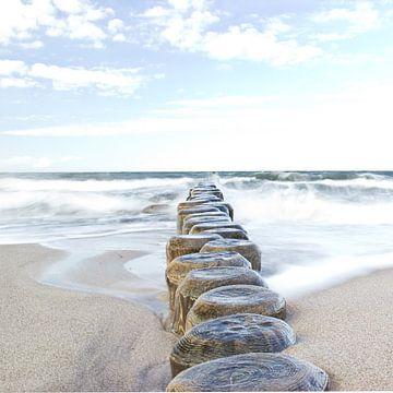 Baltische Zee van Michael Schulz-Dostal