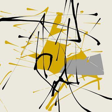 Abstracte samenstelling 913 van Angel Estevez