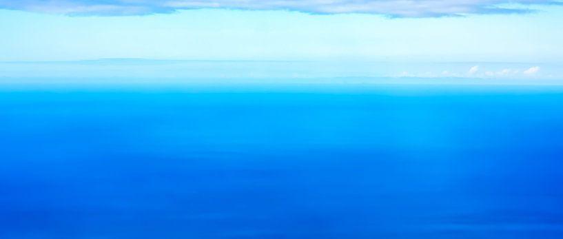 Panorama de l'océan tropical sur Jan Brons