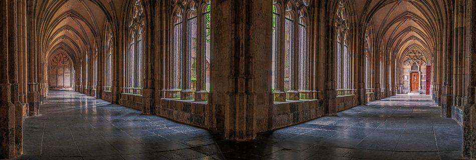 panorama Kloostertuin ,Utrecht van Robin Pics