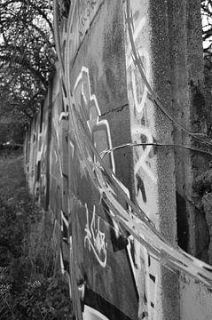 Graffiti van Maaike van der Horst