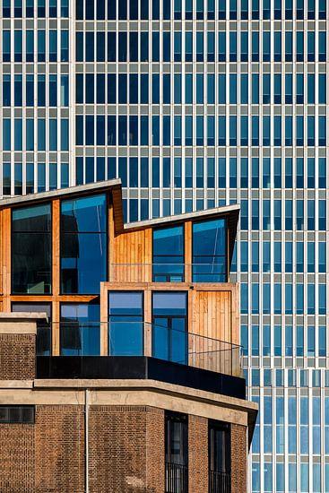 Pakhuis en De Rotterdam van Mark De Rooij
