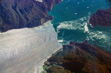 Gletsjerbreuk van Denis Feiner