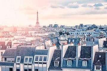 Die Dächer von Paris von Manjik Pictures