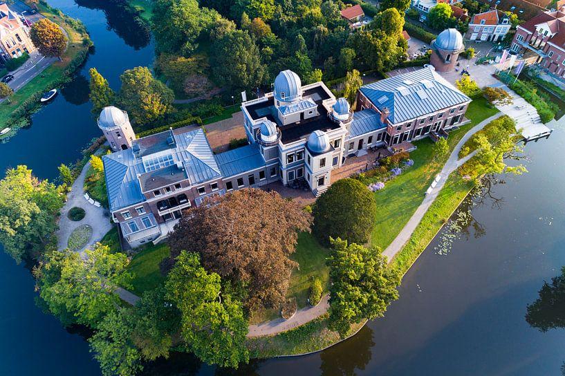 De Oude Sterrewacht in Leiden van Michel Sjollema