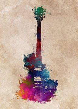 Gitarre 41 Musikkunst #Gitarre #Musik von JBJart Justyna Jaszke