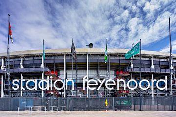 Vooraanzicht Feyenoord Stadion De Kuip Rotterdam van Mario Brussé