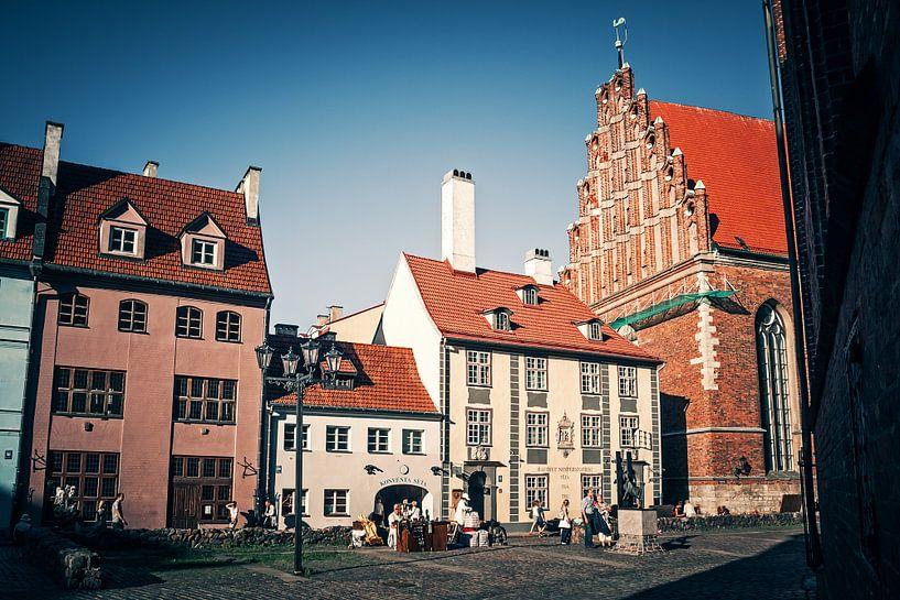 Riga - Old Town van Alexander Voss