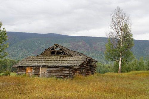 Prairie house in Canada van