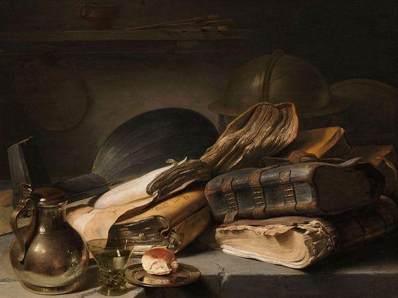 Stilleven met boeken, Jan Lievens van Meesterlijcke Meesters