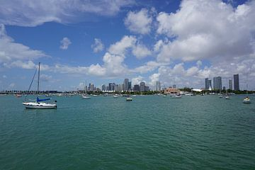 Relaxed Florida boot leven in Miami van Nynke Nicolai