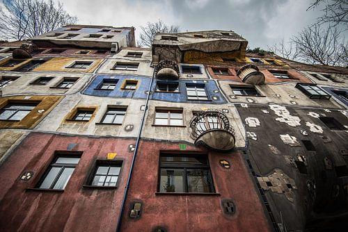 Hundertwasserhaus van Ronne Vinkx