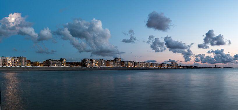 Nieuwpoort Skyline van B-Pure Photography