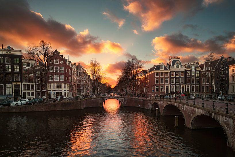 Amsterdam licht van Pieter Struiksma
