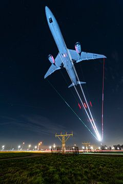 KLM Boeing 787 Dreamliner on final van Marc Hederik Fotografie