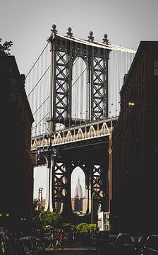 New York, Manhattan Bridge sur Remco Malestein
