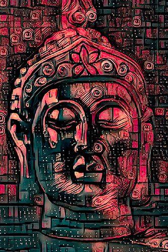 Buddha - the Joy in Red