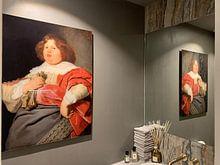 Klantfoto: Portret van Gerard Andriesz Bicker, Bartholomeus van der Helst, op acrylglas