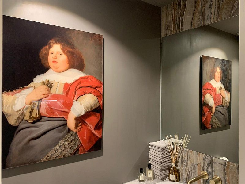 Photo de nos clients: Portret van Gerard Andriesz Bicker, Bartholomeus van der Helst, sur acryl