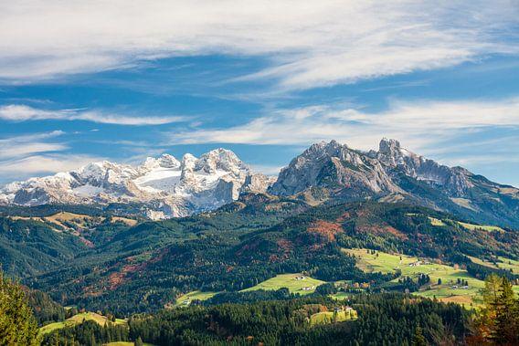 """Berglandschap """"Winter & Herfst"""""""