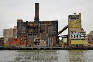 Verlaten suikerfabriek New York