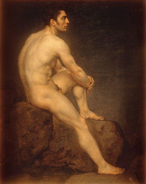 Male Nude, Manuel Ignacio Vázquez von Meesterlijcke Meesters