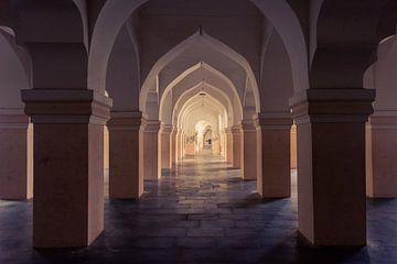 Maratha Palast in Thanjavur, Südindien, Tamil Nadu von Robert Ruidl