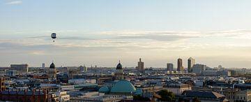 Panorama und Skyline von Berlin in Deutschland