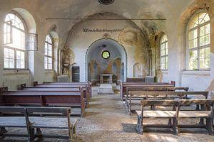 alte verlassene Kapelle