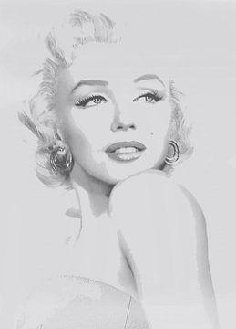 Marylin Monroe von Brian Morgan