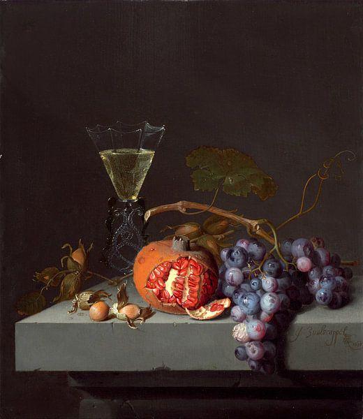 Stilleven met Fruit, Jacob van Walscapelle