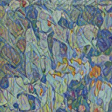 Abstract Inspiratie X van Maurice Dawson