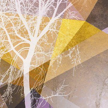 TREE INTO GEOMETRIC WOLRD NO4 von Pia Schneider