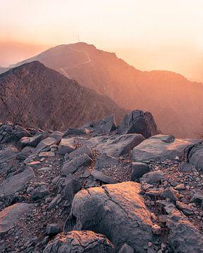 Sonnenuntergang in den Vereinigten Arabischen Emiraten