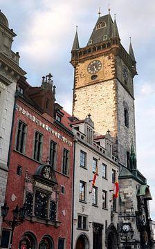 Rathaus der historischen Altstadt von Prag von Heiko Kueverling