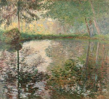 Vijver in Montgeron, Claude Monet