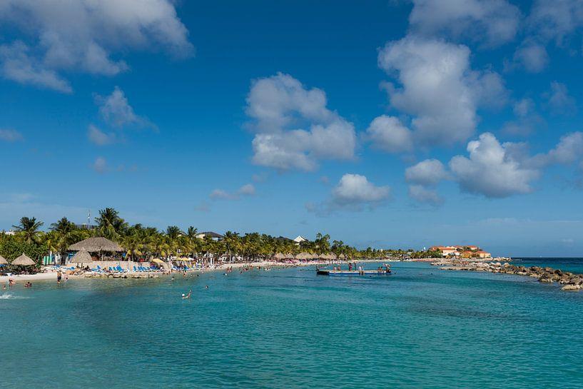 Curacao, Seaquarium beach van Keesnan Dogger Fotografie