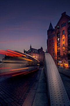 Hamburg Speicherstadt van Iman Azizi