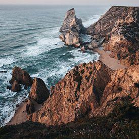 Praia da Ursa, Portugal van Michiel Dros