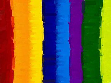 Colored Stripes von Judith Robben